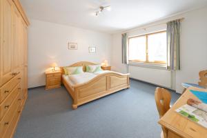 Wohnung 3: Schlafzimmer