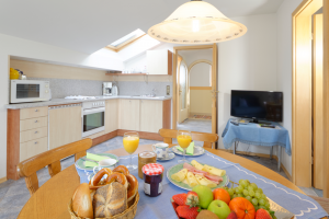 Wohnung 4: Wohnküche